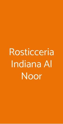 Rosticceria Indiana Al Noor, Milano