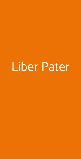 Liber Pater, Milano