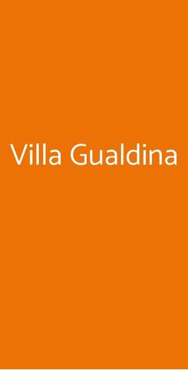 Villa Gualdina, Milano