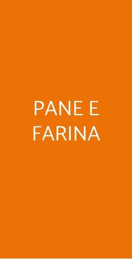 Pane E Farina, Milano