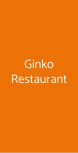 Ginko Restaurant, Milano