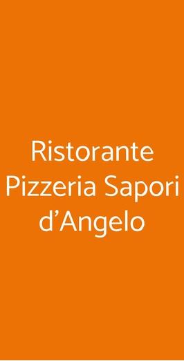 Ristorante Pizzeria Sapori D'angelo, Milano