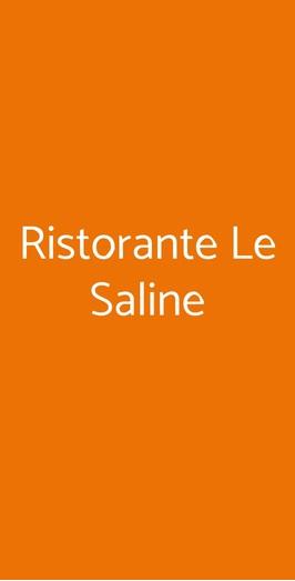 Ristorante Le Saline, Milano