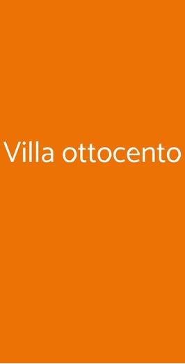 Villa Ottocento, Merate