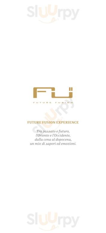 Menu Future Fusion