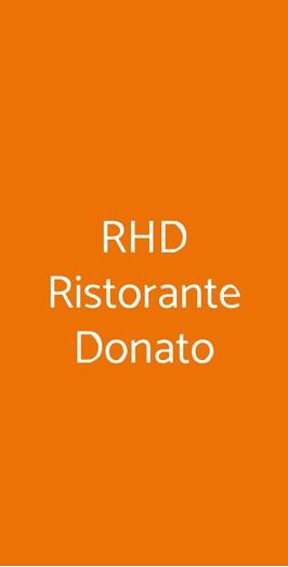 Rhd Ristorante Donato, Calvizzano