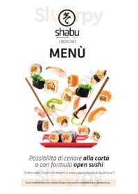 Menu Shabu Japanese Fusion Restaurant