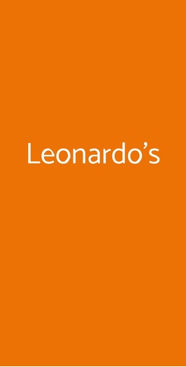 Leonardo's, Agerola