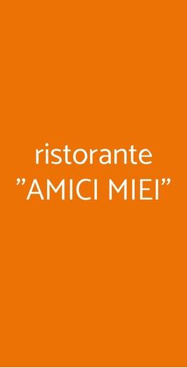 Ristorante ''amici Miei'', Napoli