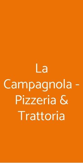 La Campagnola - Pizzeria & Trattoria, Napoli