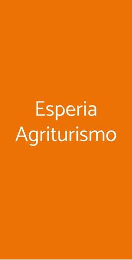 Esperia Agriturismo, Monte di Procida