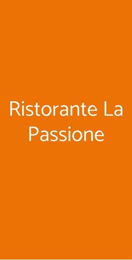 Ristorante La Passione, Casamicciola Terme