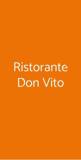 Ristorante Don Vito, Massa Lubrense