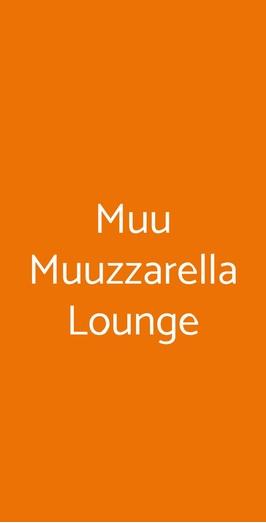 Muu Muuzzarella Lounge, Napoli