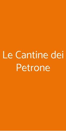 Le Cantine Dei Petrone, Napoli