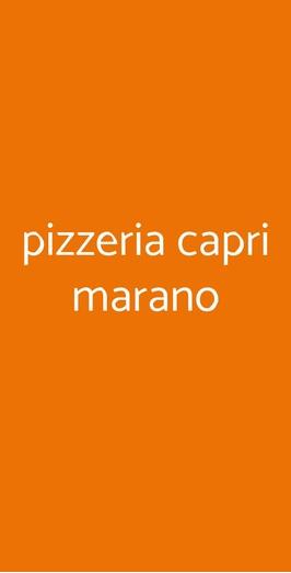 Pizzeria Capri Marano, Marano di Napoli
