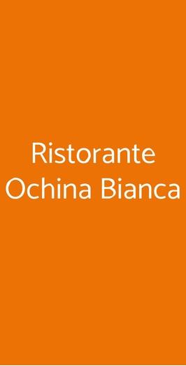 Ristorante Ochina Bianca, Mantova