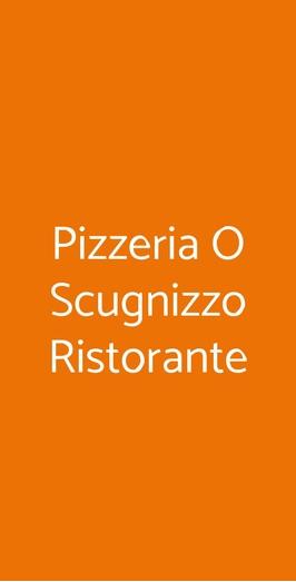 Pizzeria O Scugnizzo Ristorante, Napoli