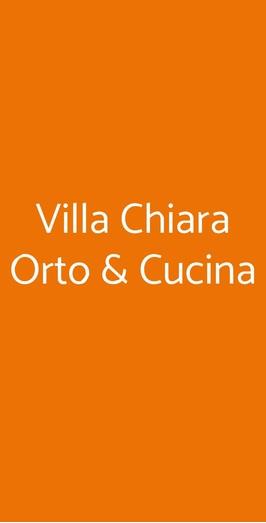 Villa Chiara Orto & Cucina, Vico Equense