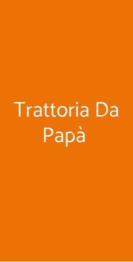 Trattoria Da Papà, Napoli