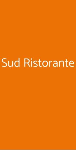 Sud Ristorante, Quarto