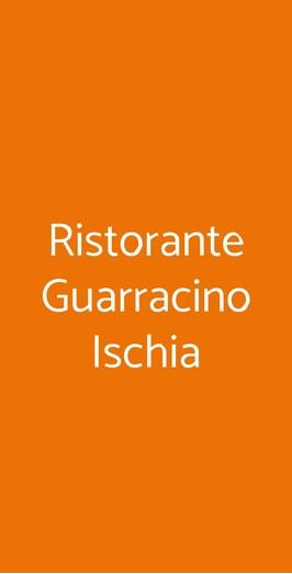 Ristorante Guarracino Ischia, Casamicciola Terme