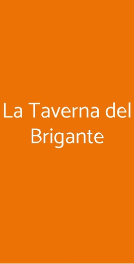 La Taverna Del Brigante, Napoli