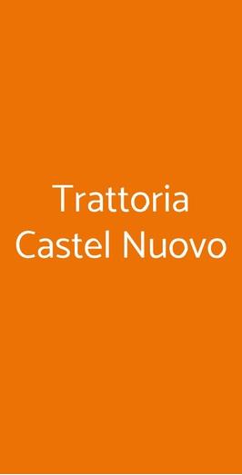 Trattoria Castel Nuovo, Napoli