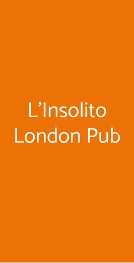 L'insolito London Pub, Napoli