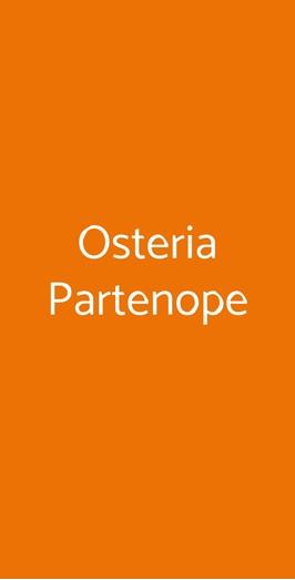 Osteria Partenope, Napoli