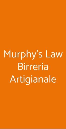 Murphy's Law Birreria Artigianale, Napoli