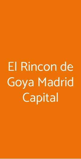 El Rincon De Goya, Somma Vesuviana