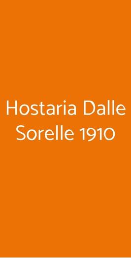 Hostaria Dalle Sorelle 1910, Napoli