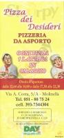 Pizza Dei Desideri, Molinella