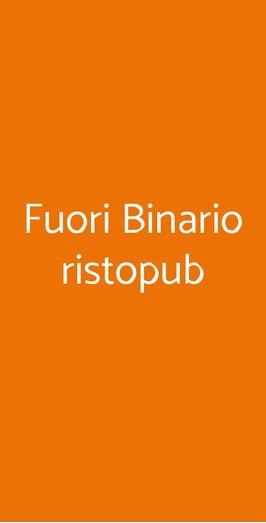Fuori Binario Ristopub, Casavatore