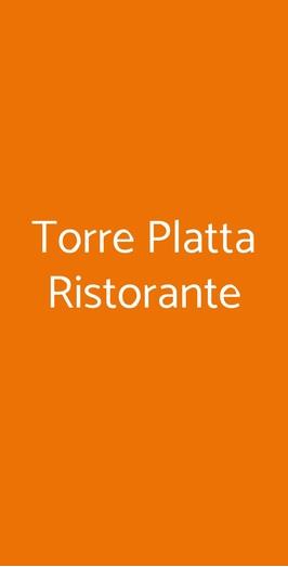 Torre Platta Ristorante, Cercola