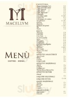 Menu Macellum Bar - Lounge Bar Pozzuoli