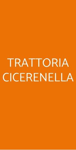 Trattoria Cicerenella, Nola