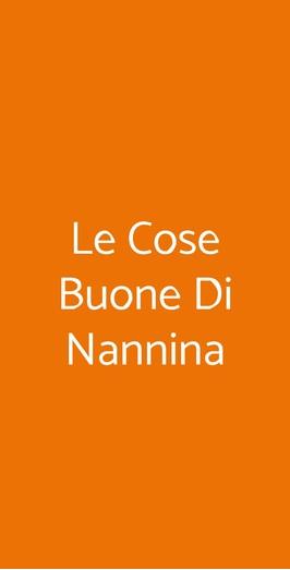 Le Cose Buone Di Nannina, San Gennaro Vesuviano