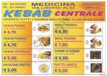 Kebab Centrale, Medicina