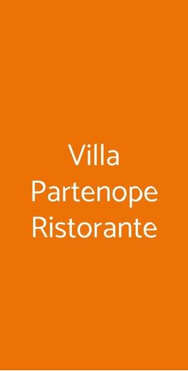Villa Partenope Ristorante, Napoli