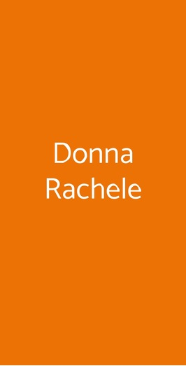 Donna Rachele, Capri