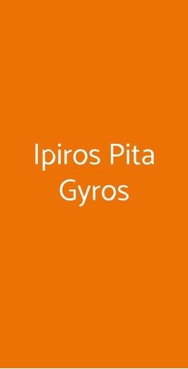 Ipiros Pita Gyros, Pavia