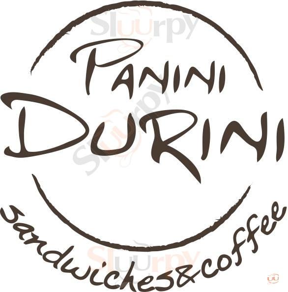 PANINI DURINI, Via Buonarroti Milano menù 1 pagina