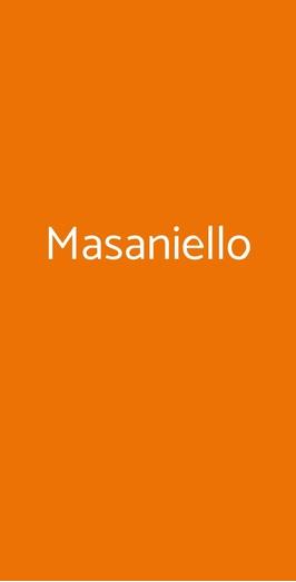 Masaniello, Napoli