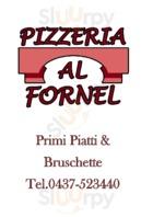 Menu Pizzeria Al Fornel