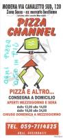 Pizza Channel, Modena