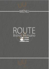 Menu Route66 Bistrot Molisano