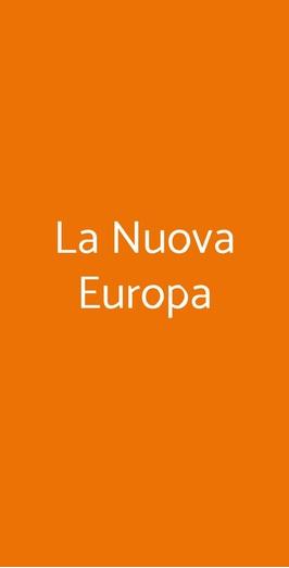 La Nuova Europa, Balangero