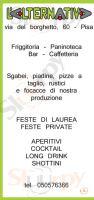 L'alternativa, Pisa